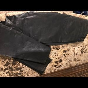 J Brant leather pants